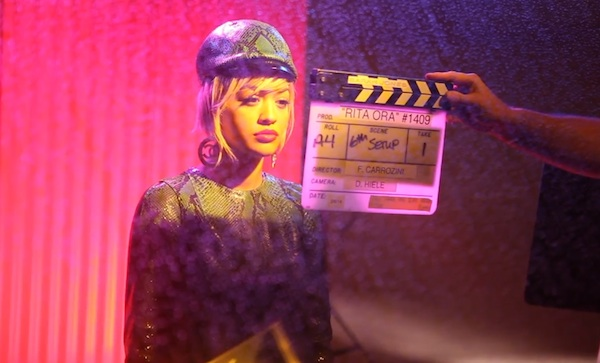 rita ora i will never let you down bts Behind The Scenes: Rita Ora   I Will Never Let You Down Video