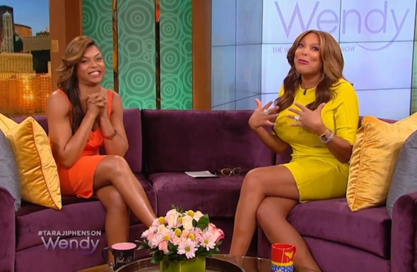 taraji p henson wendy williams Watch: Taraji P. Henson Dishes On New Movie & Person Of Interest Exit  OnWendy