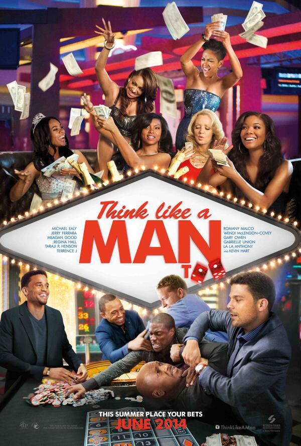 think like a man too poster Hot Shots: New Think Like A Man Too Movie Pics