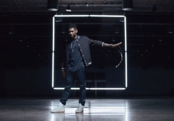 usher good kisser teaser tgj 600x416 Usher Unwraps Good Kisser Video Teaser & Cover