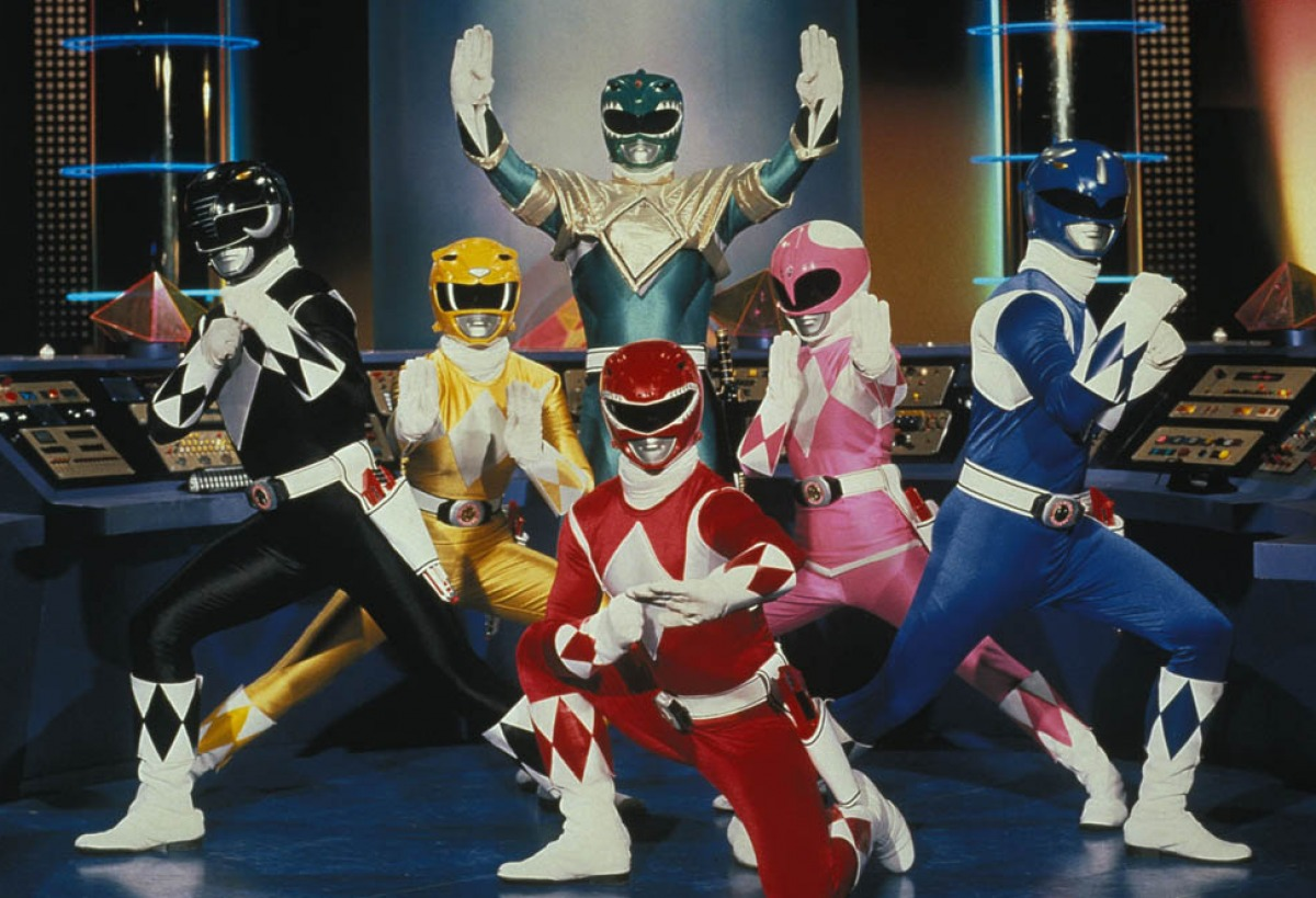 Mighty Morphin Power Rangers That Grape Juice Mighty Morphin Power Rangers Scores Big Screen Reboot