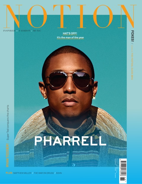 Pharrell Covers Notion