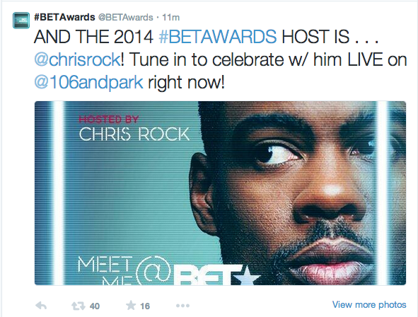 Screen shot 2014 05 14 at 5.15.00 PM Chris Rock Named Host of 2014 BET Awards