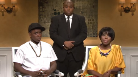 "Watch:  ""Saturday Night Live"" Spoofs Jay Z & Solange Spat"