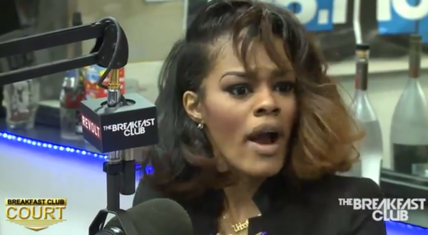 Teyana Taylor That Grape Juice 10 600x330 Teyana Taylor Talks New Music, Branding & Rihannas Involvement In Adidas Split On The Breakfast Club
