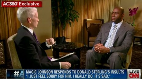 Watch:  Magic Johnson Responds To Donald Sterling Slam Via New Anderson Cooper Interview