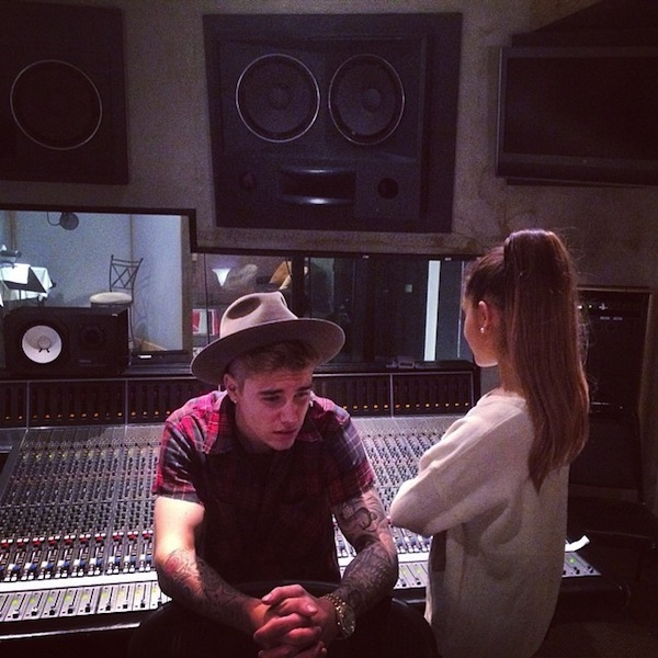 ariana grande justin bieber Ariana Grande Confirms Justin Bieber Collaboration