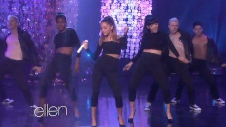Watch: Ariana Grande Performs 'Problem' On 'Ellen'