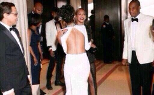 bey rih met Caption This: Beyonce Embraces Rihanna At MET Gala