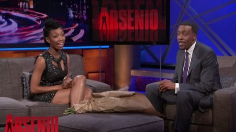 Brandy Reveals New Album Plans On 'Arsenio'