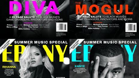 Power: Beyonce, Rihanna, Jay Z, & Kanye West Score Special EBONY Covers
