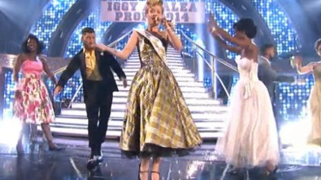 """Watch:  Iggy Azalea Suffers Technical Difficulties On """"Dancing With the Stars"""" Finale"""