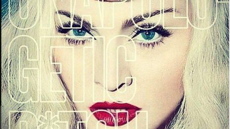 """Hot Shot:  Madonna Unveils Artwork To New Single """"Unapologetic B*tch""""?"""
