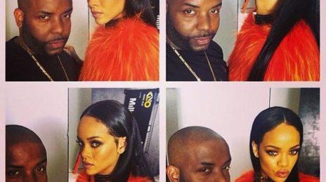 Hot Shot: Rihanna Stuns On Set Of New Photoshoot