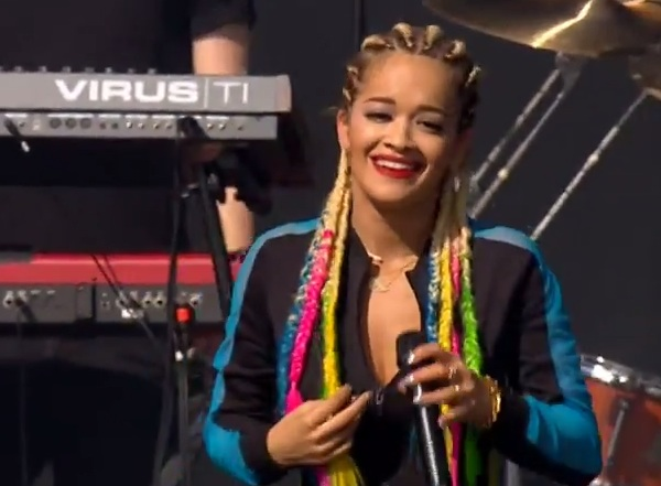 rita ora radio 1 Watch: Rita Ora Rocks Radio 1s Big Weekend