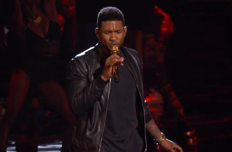 usher good kisser voice Watch:  Usher Puckers Up For First Good Kisser Live Performance