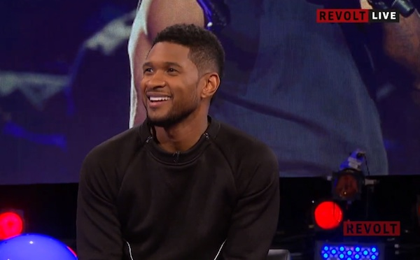 usher revolt thatgrapejuice Usher Visits Revolt TV / Talks Good Kisser, New Chris Brown Collabo, & Michael Jackson