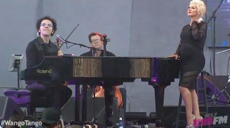 Watch: Christina Aguilera Wows At 'Wango Tango' (Performance)