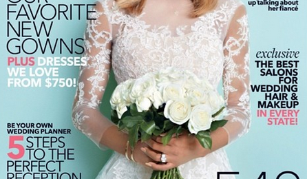 Hot Shot: Ciara Covers 'Brides' Magazine