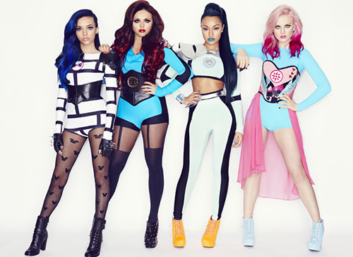 Little Mix that grape juice 2014 90 Salute: Little Mix Make New Top 40 Appearance / Lana Del Rey Rockets To #1