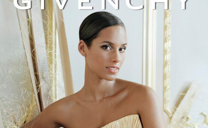 Still On Fire:  Alicia Keys Stuns As New Face of Givenchy / Readies New Album For Early 2015