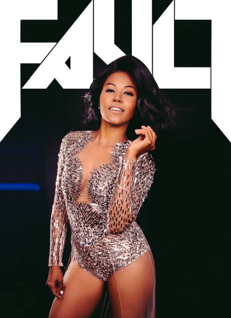 ameriie fault 3 Ameriie Stuns In Fault Magazine