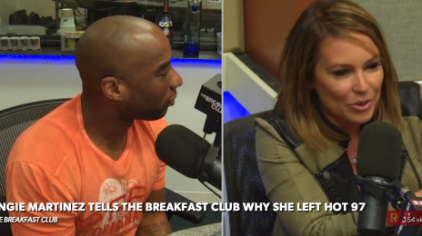 Watch: Angie Martinez Details 'Hot 97' Exit On 'The Breakfast Club'