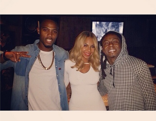 ashanti lil wayne Hot Shot: Ashanti Hits Studio With Lil Wayne & B.O.B