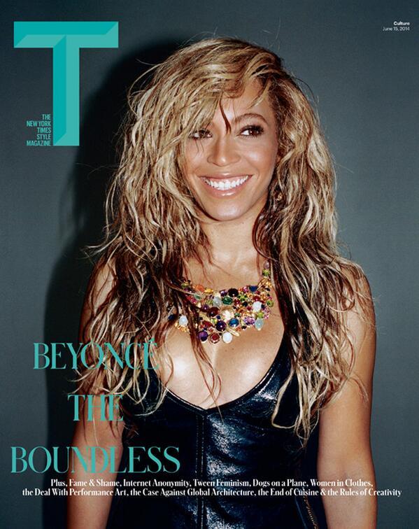 beyonce t magazine Beyonce Stuns For T Magazine