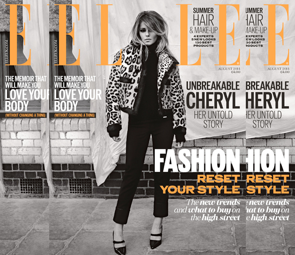 cheryl cole elle 2014 thatgrapejuice1 Cheryl Cole Covers Elle Magazine