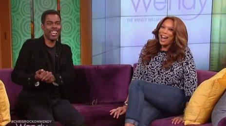 Hilarious: Chris Rock Visits 'Wendy' / Talks BET Awards & More