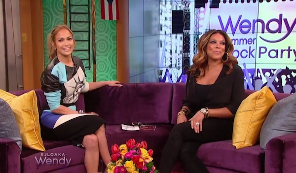 jennifer lopez wendy Watch: Jennifer Lopez Visits Wendy Williams / Confirms Casper Smart Split