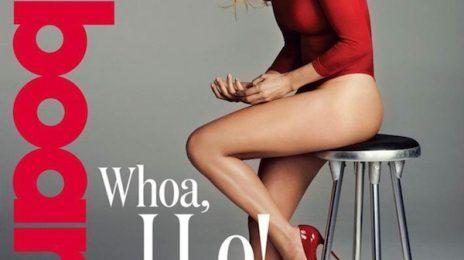 Fierce: Jennifer Lopez Is Lady In Red For 'Billboard'