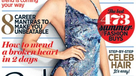 Katy Perry Covers 'Cosmopolitan' / Becomes First International Cover Star