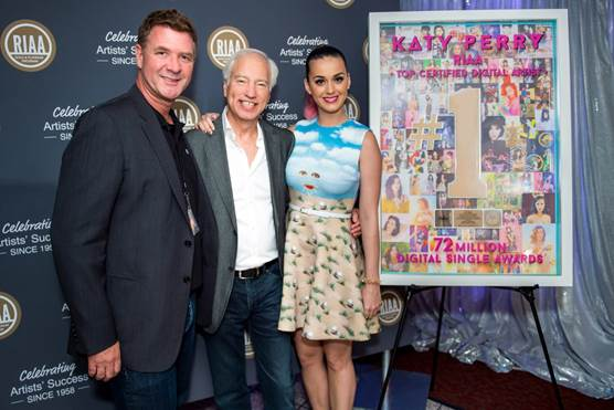 katy perry riaa 2014 that grape juice Recording Industry Association of America: Katy Perry Is The Top Digital Certified Artist Ever