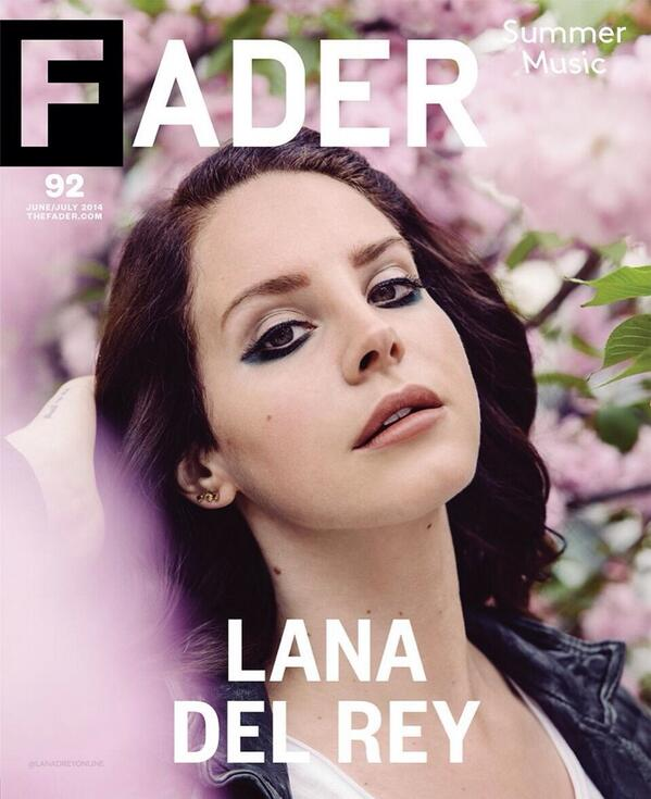 lana del rey that grape juice fader 10 Hot Shots: Lana Del Rey Takes Ultraviolence To Fader