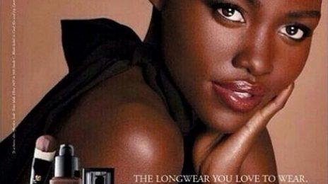 Lupita Nyong'o Unveils First Lancome Promo