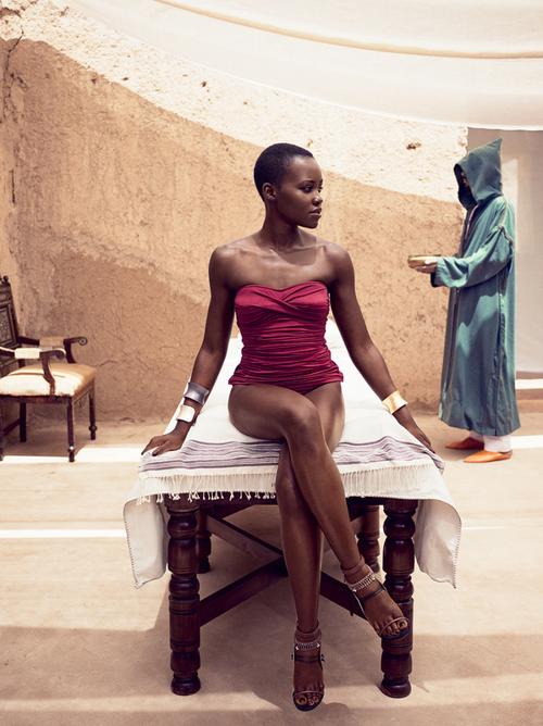 lupita vogue 4 Lupita Nyongo Covers Vogue