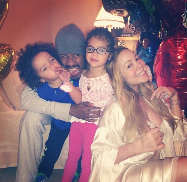 mariah carey fathers day Hot Shots: Mariah Carey & Beyonce Celebrate Fathers Day