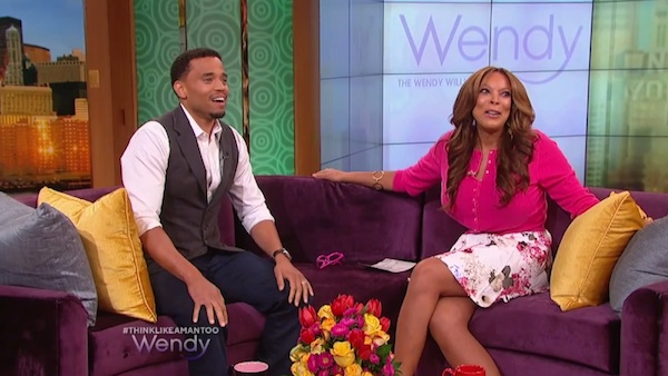 michael ealy wendy Watch: Think Like A Man Too Star Michael Ealy Visits Wendy