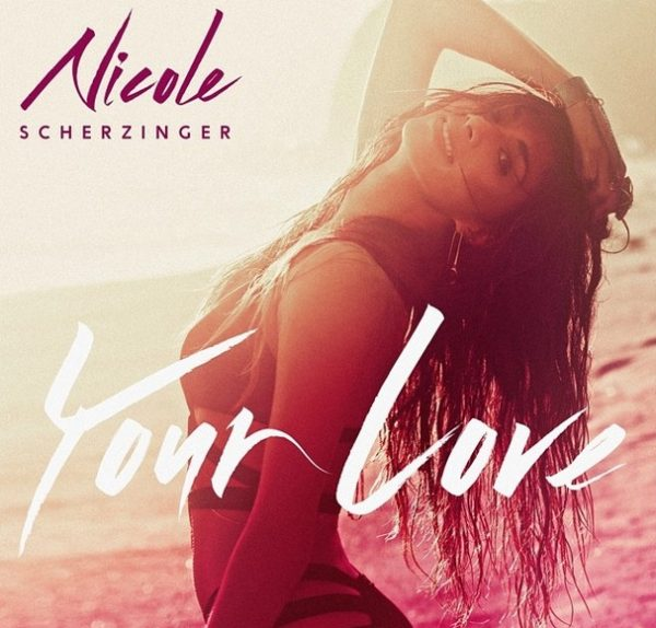 nicole scherzinger your love cover 600x574 Nicole Scherzinger Unwraps Your Love Single Cover