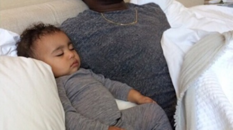 Kanye West Celebrates Father's Day With North West