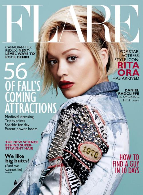 rita ora flare 1 Rita Ora Stuns In Flare Magazine