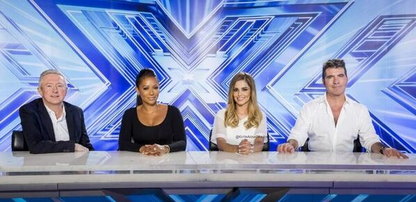 xfactor 2014 panel Hot Shot: Cheryl Cole & Mel B Shine On X Factor Panel
