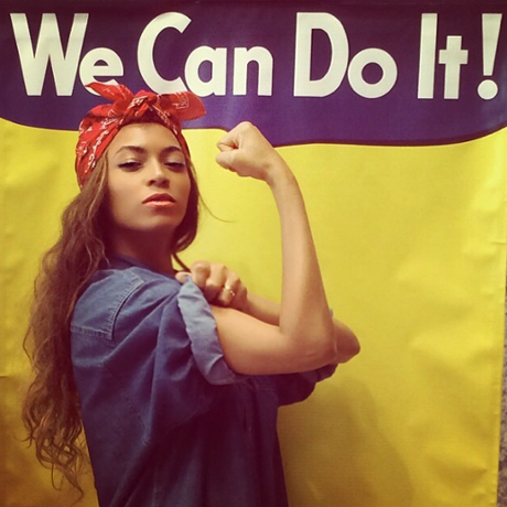 Beyonce rosie the riveter that grape juice  The Guardian Weighs In On Beyonce Rosie The Riveter Tribute: Shes No Feminist Icon