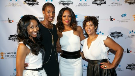 Hot Shots: Laila Ali, Karrueche Tran, Kelly Price, & More Shine At 'Champions For Choice'