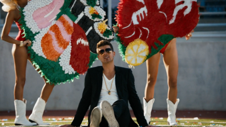 Robin Thicke Unlocks 'Still Madly Crazy' Video / Declares Love For Paula Patton On 'Hot 97'