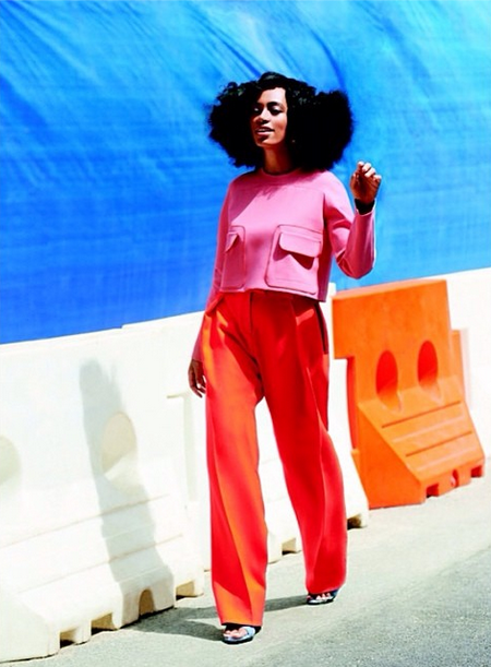 Screen Shot 2014 07 07 at 10.11.06 AM Solange Stuns In Lucky Magazine / Talks New Album & That Incident