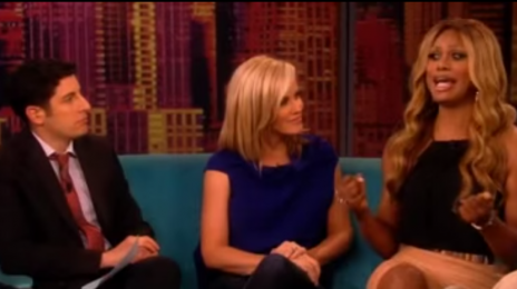 "'Orange Is The New Black's Laverne Cox Joins 'The View' / Praises ""Inspirational"" Whoopi Goldberg"