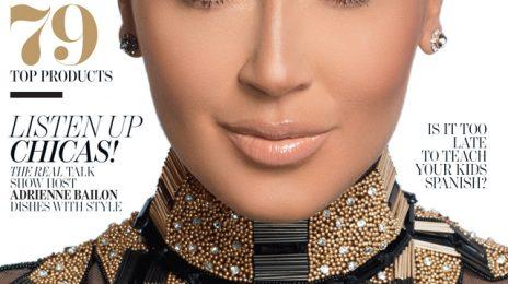 Adrienne Bailon Covers 'Latina' / Attacked By Kim Kardashian?